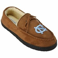 North Carolina Tar Heels Brown Moccasin Slippers