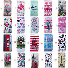 Deluxe C Wallet Leather Skin Flip Folio Magnetic Hybrid Case Cover For Samsung