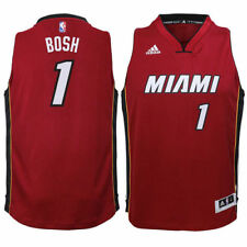 Chris Bosh Miami Heat Youth Red Swingman Basketball Jersey - NBA