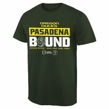 Oregon Ducks Green 2015 College Football Playoff Rose Bowl Bound Slogan T-Shirt