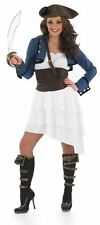 RA RA PIRATE GIRL, WOMENS FANCY DRESS COSTUME