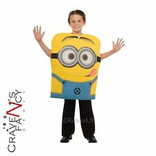 Official Dave Foam Minion Kids Despicable Me Halloween Fancy Dress Costume Child