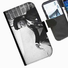 Bruno Mars Leather wallet personalised phone case for Blackberry Q10 Z3 Z3O Z10