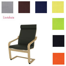 Custom Made Cover, Replacement Slipcover, Fits IKEA Poang Chair, 30 fabrics