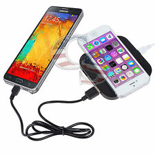 Multiple USB Qi Wireless Charging Charger Pad For iPhone Samsung LG Nexus Nokia