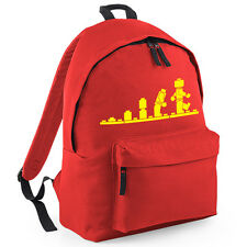 Evolution Of Lego Rucksack Backpack Brand New Bag School College Holiday