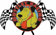 MUTTLEY DICK vile atto T SHIRT T-SHIRT WACKY RACES CARTOON Ant Hill Mob divertente