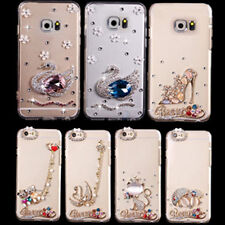 X3 New Bling Crystal Diamond Case Cover For Apple iPhone/Samsung Galaxy Phones