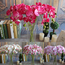 Silk Flowers Garden Decor Home Artificial High quality Plant Butterfly Orchid