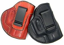 PREMIUM LEATHER IWB INSIDE THE PANTS CONCEALMENT HOLSTER-Choose Color & Model