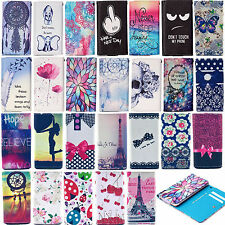 Cute Card Pocket PU Leather Case Cover For Apple iPhone 4/4S 5/5S 5C 6/6Plus