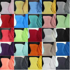 Soft touch 4 way stretch jersey lycra fabric material Q36