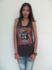 Kiss Rock n Roll Over Metal Rock T-Shirt Tank Top Women's Graphic Tee S,M,L New