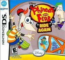 Phineas and Ferb: Ride Again - Case, Artwork, Manual & Mini Poster (Nintendo DS)