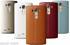 "LG G4 Leather H815 32GB (FACTORY UNLOCKED) 5.5"" QHD , 3GB RAM - Choose a Color"
