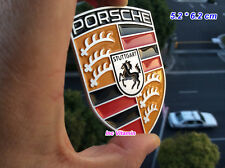 PORSCHE STUTTGART CAR EMBLEM MANCHESTER UNITED DECAL STICKER 3D BADGE CREST HOOD