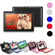 "New 7""Android 4.4 Quad Core 4GB Dual Camera Tablet PC WiFi Bluetooth+Keyboard D1"
