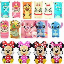 3D Cartoon Cute Silicone Soft Dropproof Cover Case Skin For LG Sony HTC Asus