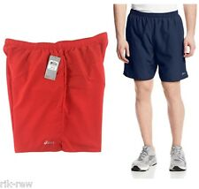 "ASICS Mens Core 7"" Pocketed Athletic Shorts Lined NEW Choose Color Size"
