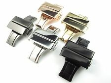 20mm Stainless Steel Watch Deployment buckle strap NEW Design Parts multicolored
