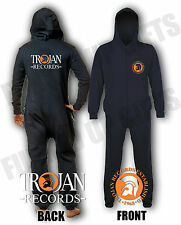 Trojan Records, Onesie, Jumpsuit, Pyjamas, Loungers, Nightwear, All in One,