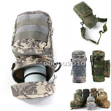 NEW Molle Zipper Camo Water Bottle Utility Medic Pouch Small Mess Pouch Sport