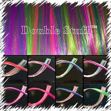 """DOUBLE STUFF!! 20"""" Long Clip in synthetic Hair Extension! BUY 1 GET 1 50% OFF"""