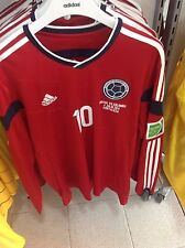 SELECCION COLOMBIA JAMES VISITORS JERSEY 100% AUTHENTIC ADIDAS RECEIPT PROVIDED