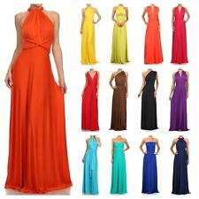 New SUMMER MAXI DRESS Convertible Beach Casual Party Formal Bridesmaid Multi Way