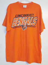 NFL Team Apparel Mens Cincinnati Bengals T-Shirt Sizes Medium and Large NWT