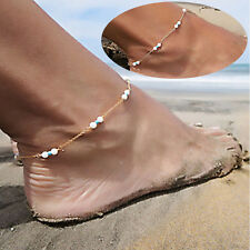 Womens Handmade Bead Chain Girls Anklet Foot Leg Chain Bracelet Jewelry unique