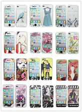 Colorful Coating Front and Back Full Body Screen Protector For Apple iPhone 4S 4