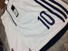 SELECCION COLOMBIA NATIONAL TEAM WHITE HOME FCF ADIDAS SHORTS JAMES 10 (G85396)