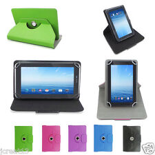 """Rotating Leather Case Cover For 7"""" Zeepad 7.0 Allwinnwer A13 tablet TY1HW"""