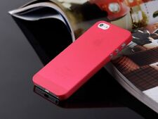 For Apple iPhone 5 5S Back Case Cover Skin 10 Colors 0.3mm Hard Ultra Thin