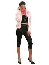 Retro Grease Pink Lady Jacket & Trousers Hen Night Party Costume New Fancy Dress