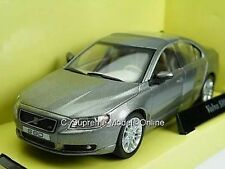 VOLVO S80 MODEL CAR GREY COLOUR 1/43RD SIZE 4 DR SALOON EXAMPLE BXD T3412Z{:}