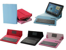 "Universal For 9""- 10.1""Inch Tablet PC Removable Bluetooth Keyboard Case Cover"