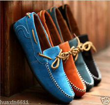 2015 new British Men's Suede Casual Lace Slip  Moccasins Driving Shoes