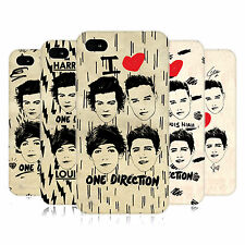 OFFICIAL ONE DIRECTION 1D DOODLE GRUNGE HARD BACK CASE FOR APPLE iPHONE 4