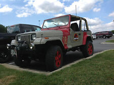 Jurassic Park Jeep Wrangler Kit!    CJ YJ TJ Full Color Decals-No Layering!!!