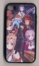Sword Art Online Case Cover for iPhone 4/4S 5/5S 6 or Galaxy S4 hard plastic