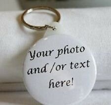 Personalised 58mm Badges Keyrings Mirrors Bottle Openers - Add your photo/text