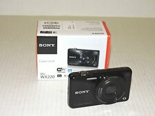 Sony Cyber-shot DSC-WX220 Digital Camera, Black #DSC-WX220/B