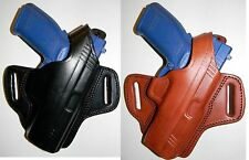 TAGUA LEATHER THUMB BREAK BELT HOLSTER ~ CLOSEOUT LIMITED QTY
