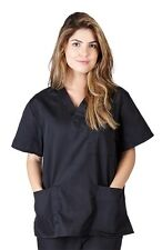Unisex Men/Women Scrub Top Medical Hospital Nursing 3 Pocket Scrub Top CHK101
