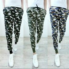 Camo Fashionable Mens Harem Pants Trousers Sweatpants Jogger Casual Sportwear