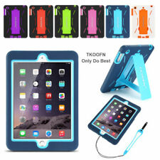 Hybrid Rugged Heavy Duty Shockproof Case Stand Cover For iPad Mini 1 2 3 Retina
