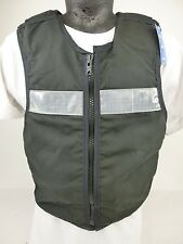 COVER ONLY!! Ex Police Black Overt Stab Bullet Proof Vest Body Armour Armor GB26