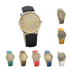 Retro Mens Watch Womens Watch Quartz Wrist Watch Romans Numeral Casual Watch Hot